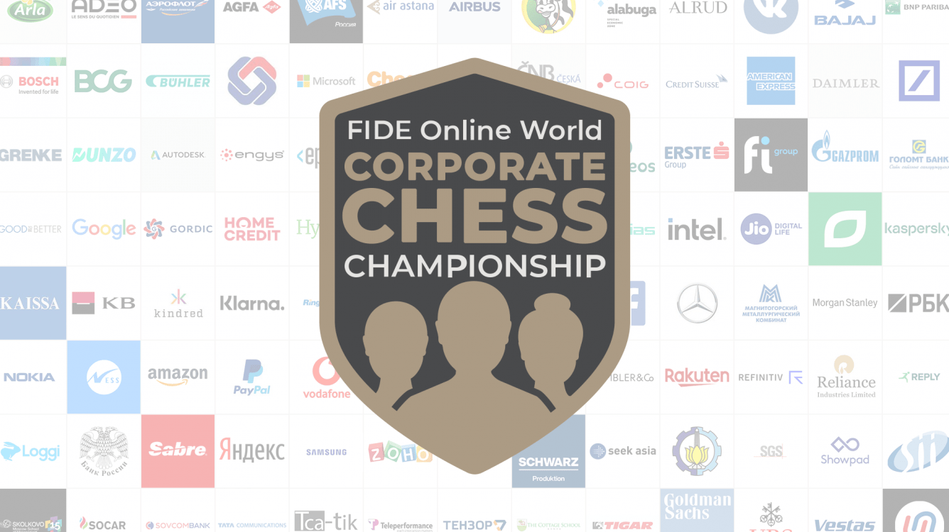 Today: FIDE Online World Corporate Chess Championship Finals
