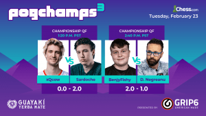 Pogchamps 3: Sardoche Advances, Benjy Wins In Final Second