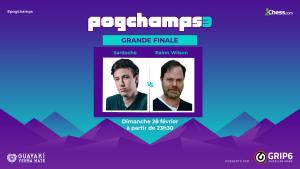 Sardoche face au défi Rainn Wilson en finale des Pogchamps