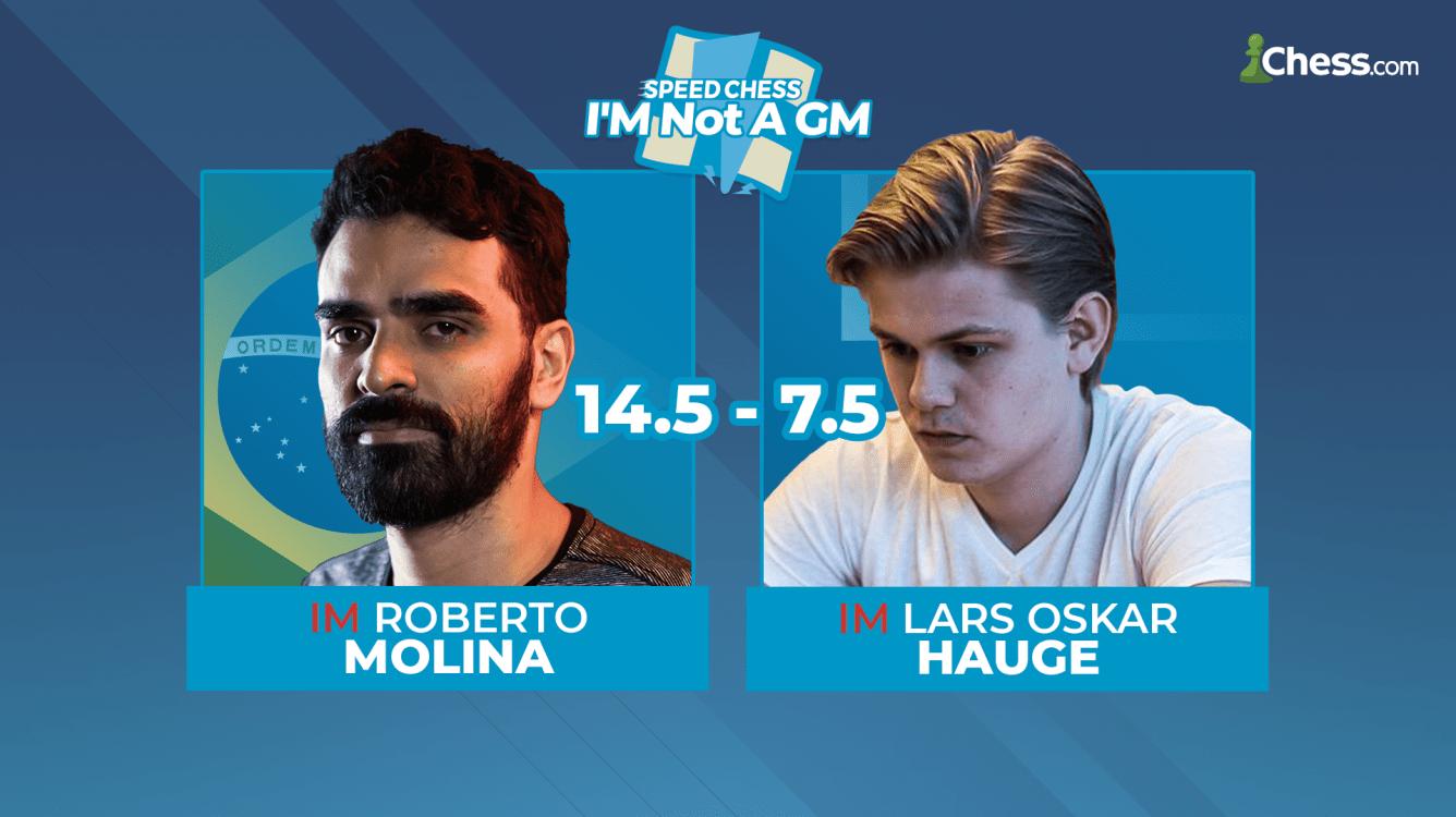 IMSCC Semifinals: Molina Defeats Hauge 14.5-7.5