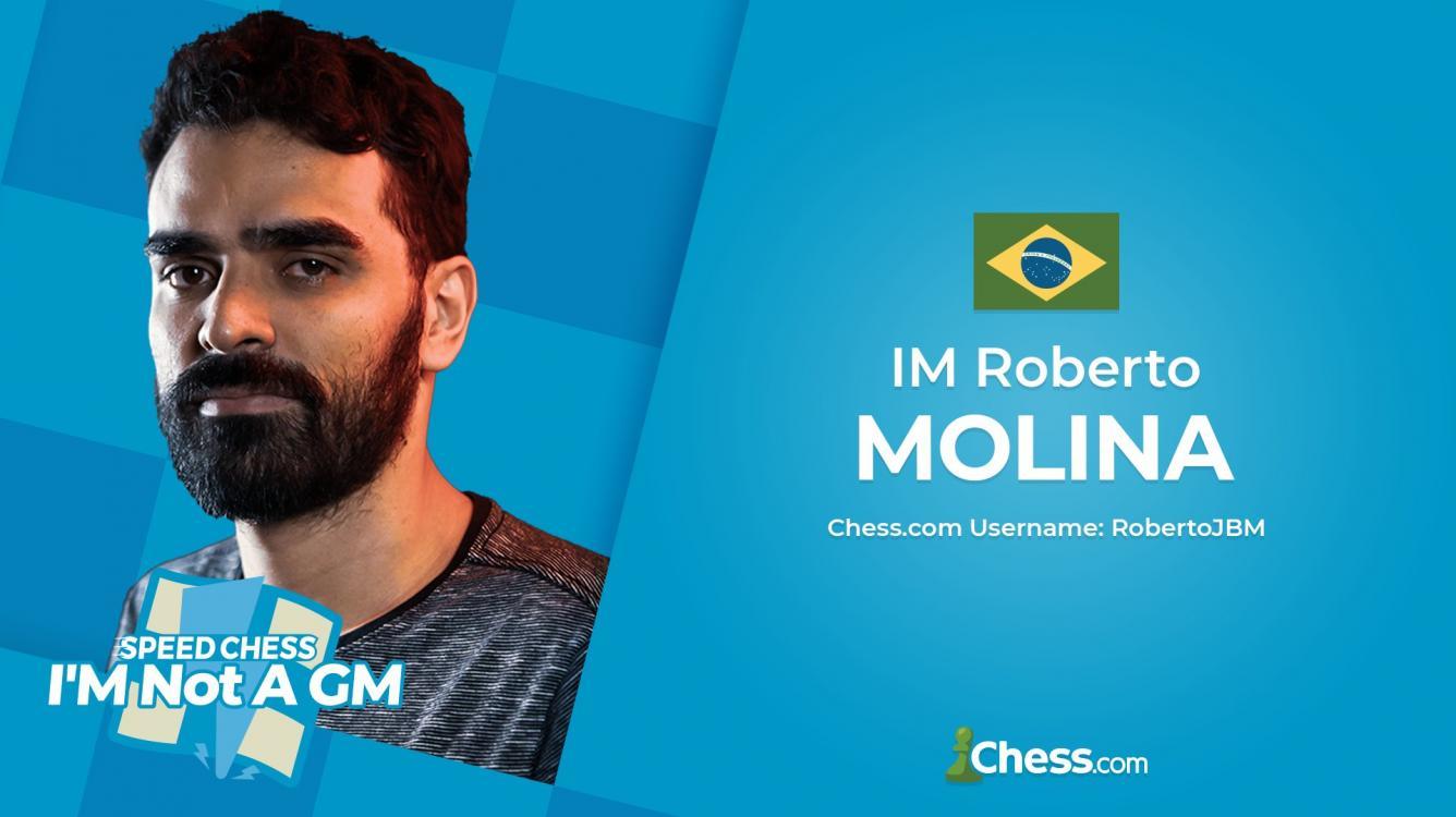 Molina Wins 2021 I'M Not A GM Speed Chess Championship
