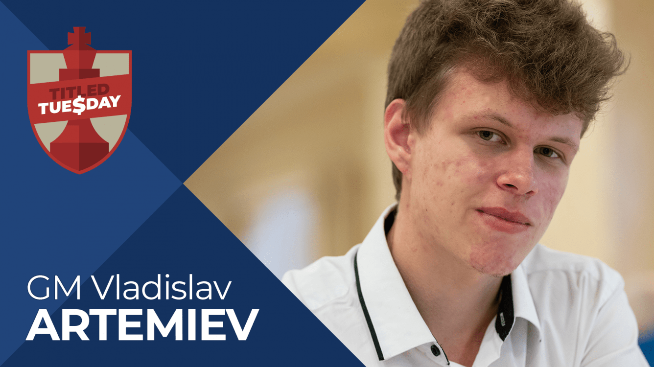 Artemiev Wins 3rd Titled Tuesday in 4 Weeks