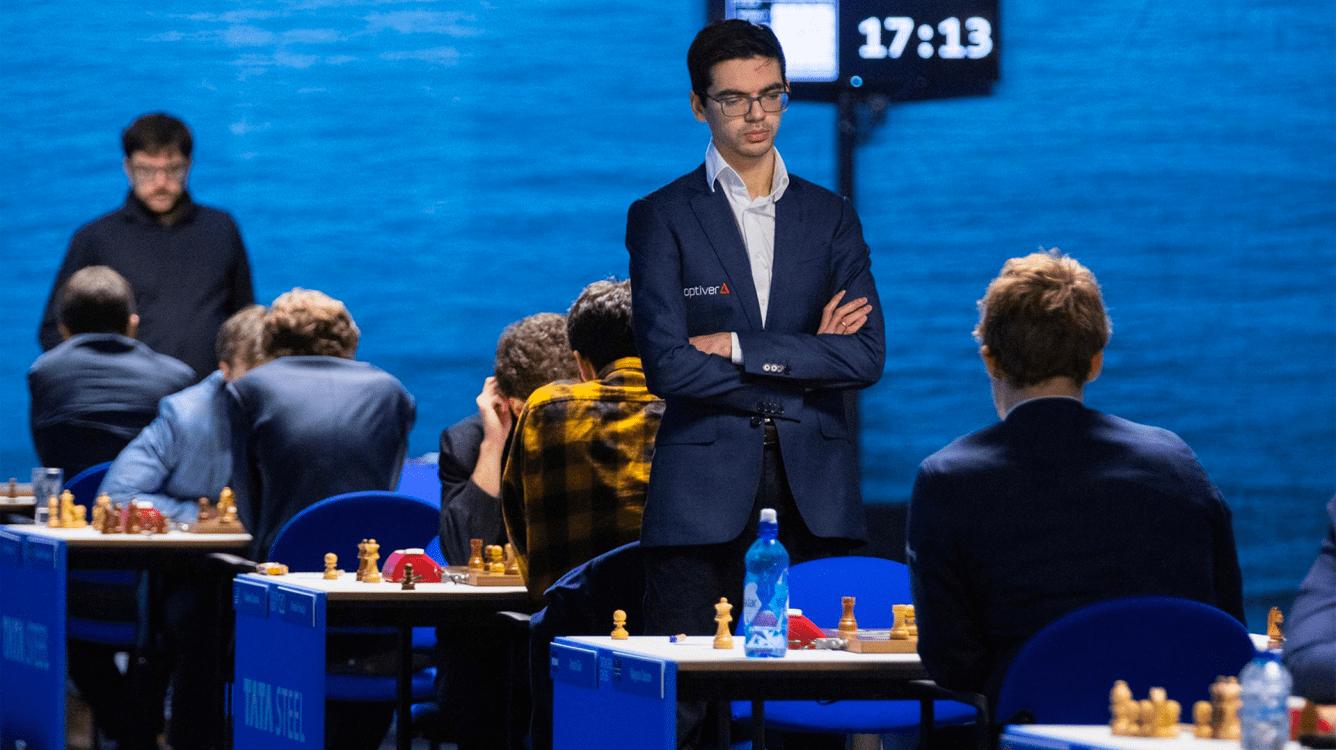 2021 Magnus Carlsen Invitational Day 1: Giri Early Leader