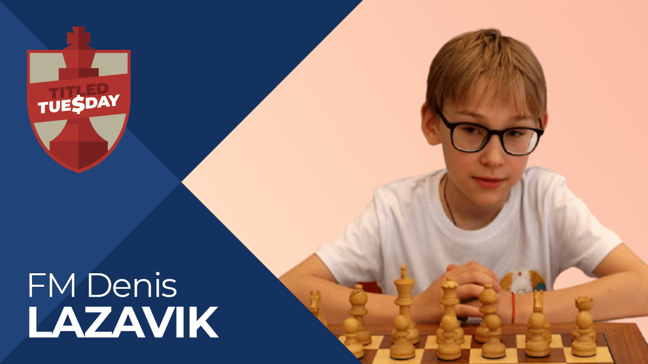 15-Year-Old Denis Lazavik Stuns At Titled Tuesday