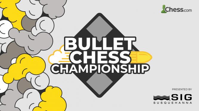 Chess.com und SIG veranstalten die Bullet Chess Championship 2021