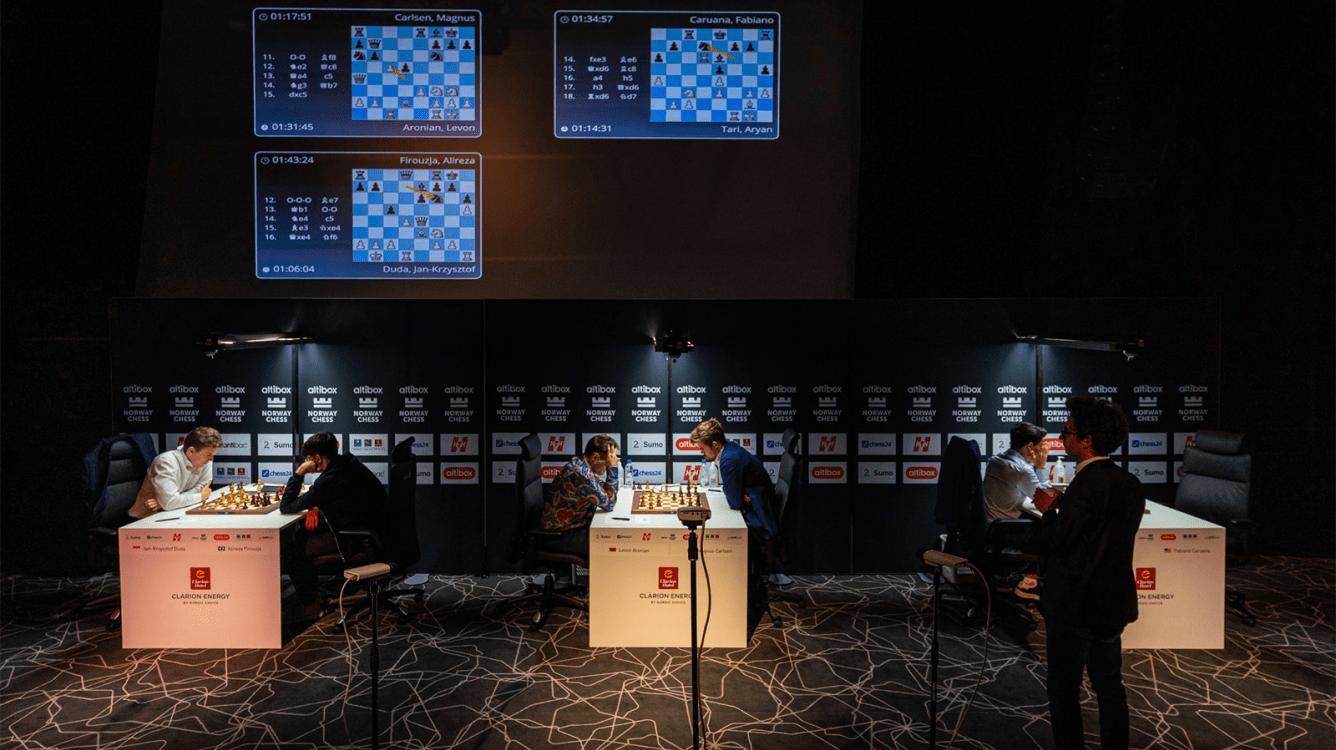 Norway Chess, Sigeman Postponed