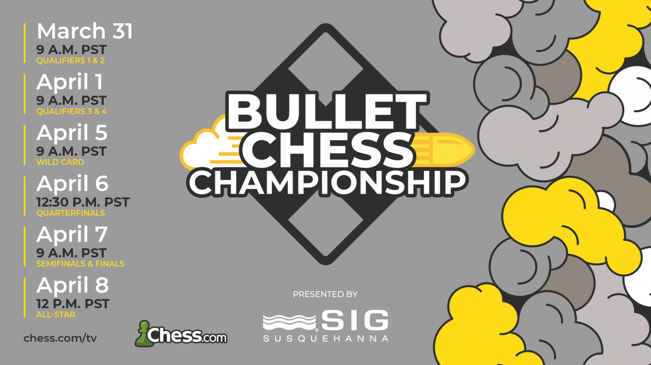 Andreikin, Le Tuan Minh Qualify For 2021 Bullet Chess Championship Presented By SIG