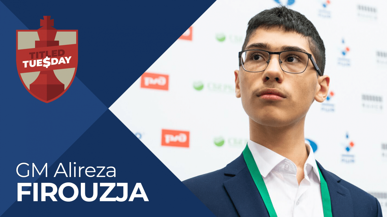 Firouzja ganó el Titled Tuesday del 30 de marzo