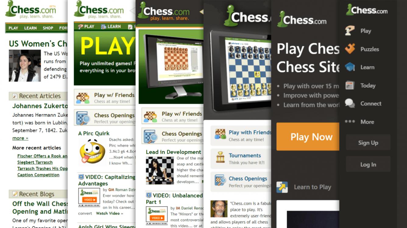 Concurso de Redesign do Chess.com: Prêmio de $10.000 para o primeiro lugar e talvez até um emprego em tempo integral!
