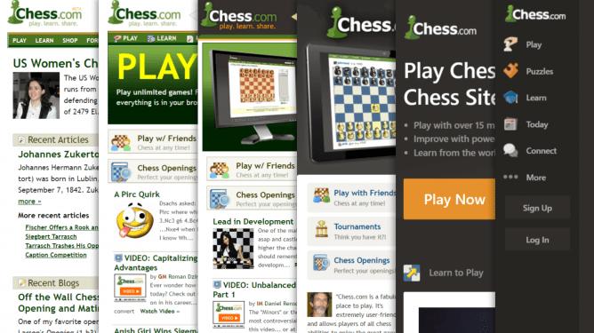 Grand concours de webdesign du nouveau Chess.com : 10,000$ à gagner et peut-être un emploi à plein temps !