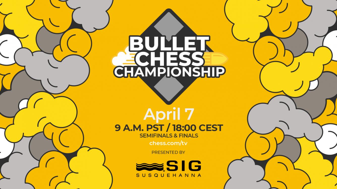 Hoy: Firouzja, Nakamura, Naroditsky, Tang en las semifinales del 2021 Bullet Chess Championship presentado por SIG