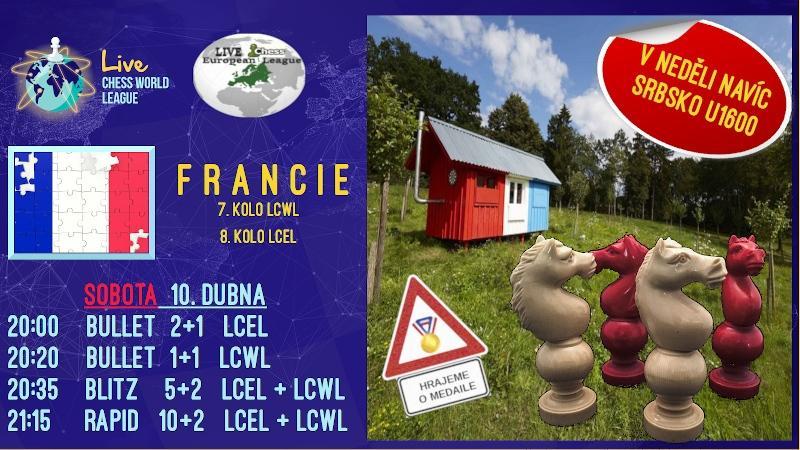 LCWL + LCEL - sladká Francie (a srbský zákusek)