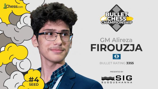 Firouzja gewinnt die SIG Bullet Chess Championship 2021