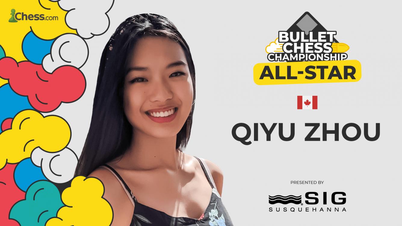 Nemo Qiyu Zhou Wins All-Stars Bullet Chess Championship 2021 Presented By SIG