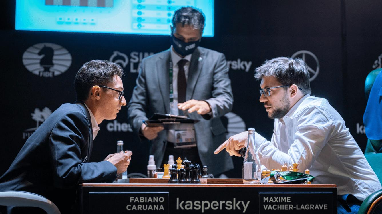 Torneio de Candidatos da FIDE: Bem preparado, Caruana sobe de posição depois do tropeço do MVL no final