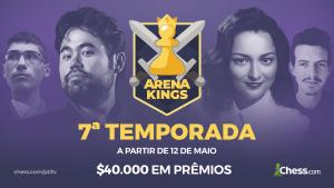A 7ª temporada do Arena Kings começa no dia 12 de maio com $40.000 em prêmios