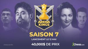 La saison 7 des Arena Kings démarrera le 12 mai avec 40,000$ de prix