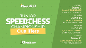 Chess.com Announces The 2021 Junior Speed Chess Championship