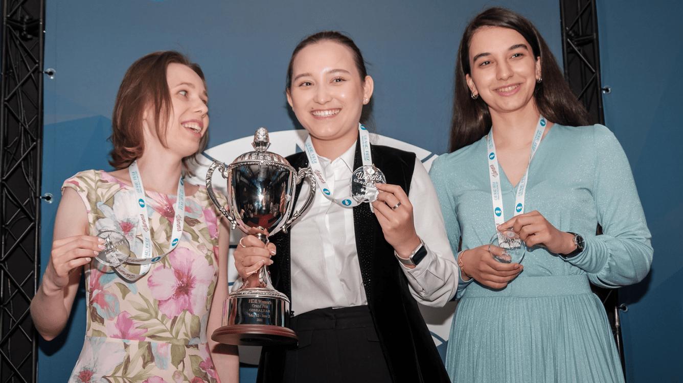 Жансая Абдумалик побеждает на турнире Гран-При в Гибралтаре