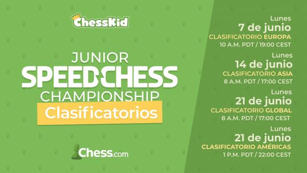 Chess.com anuncia el Junior Speed Chess Championship 2021