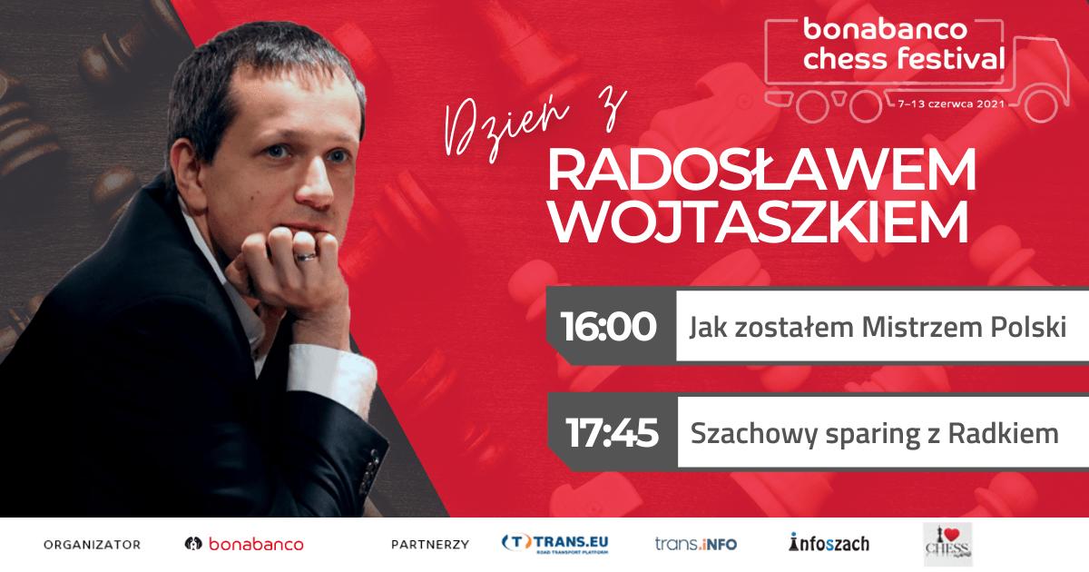 Stream z Radkiem Wojtaszkiem!