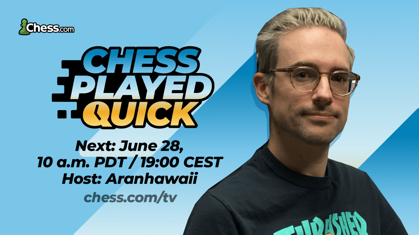 Chess.com Announces Chess Played Quick Bullet Edition On June 28