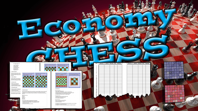 Print & play set for Economy Chess OTB