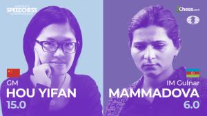 Speed Chess Championship féminin : Hou Yifan en quart de finale