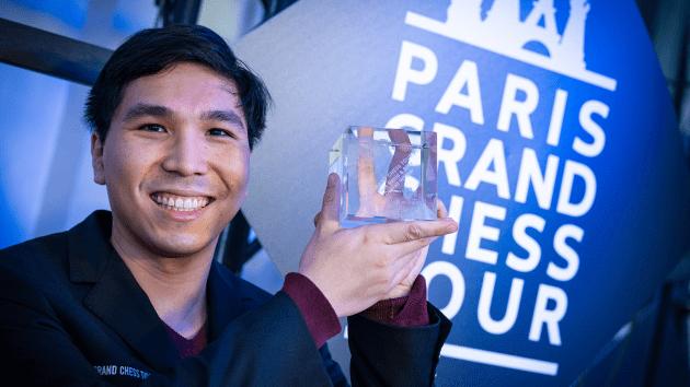 Париж: Уэсли Со занимает первое место