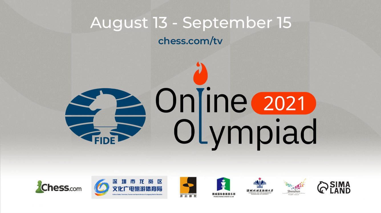 Chess.com Announces The 2021 FIDE Online Chess Olympiad