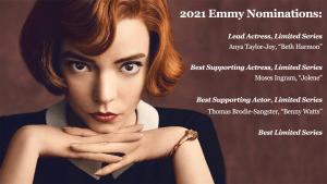 Queen's Gambit Nets 18 Emmy Nominations