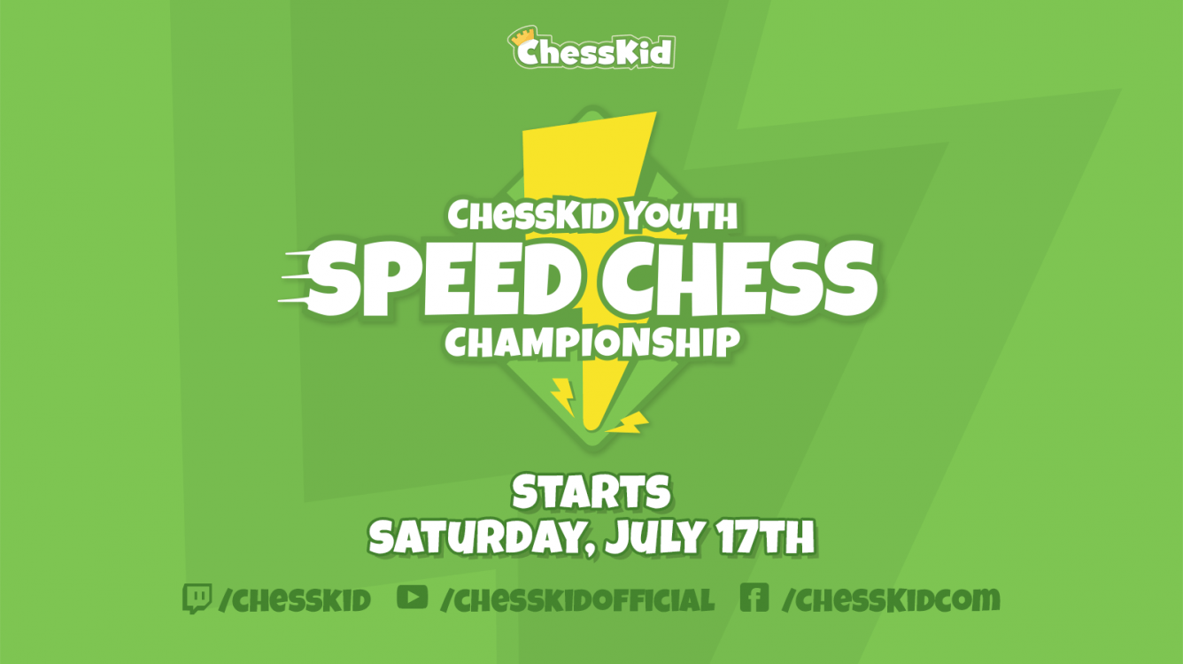 Announcing The Second Annual ChessKid Youth Speed Chess Championship Starting July 17