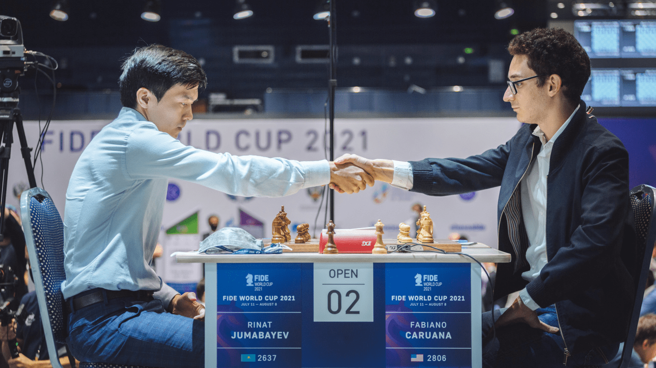 Copa del Mundo de la FIDE: Caruana eliminado