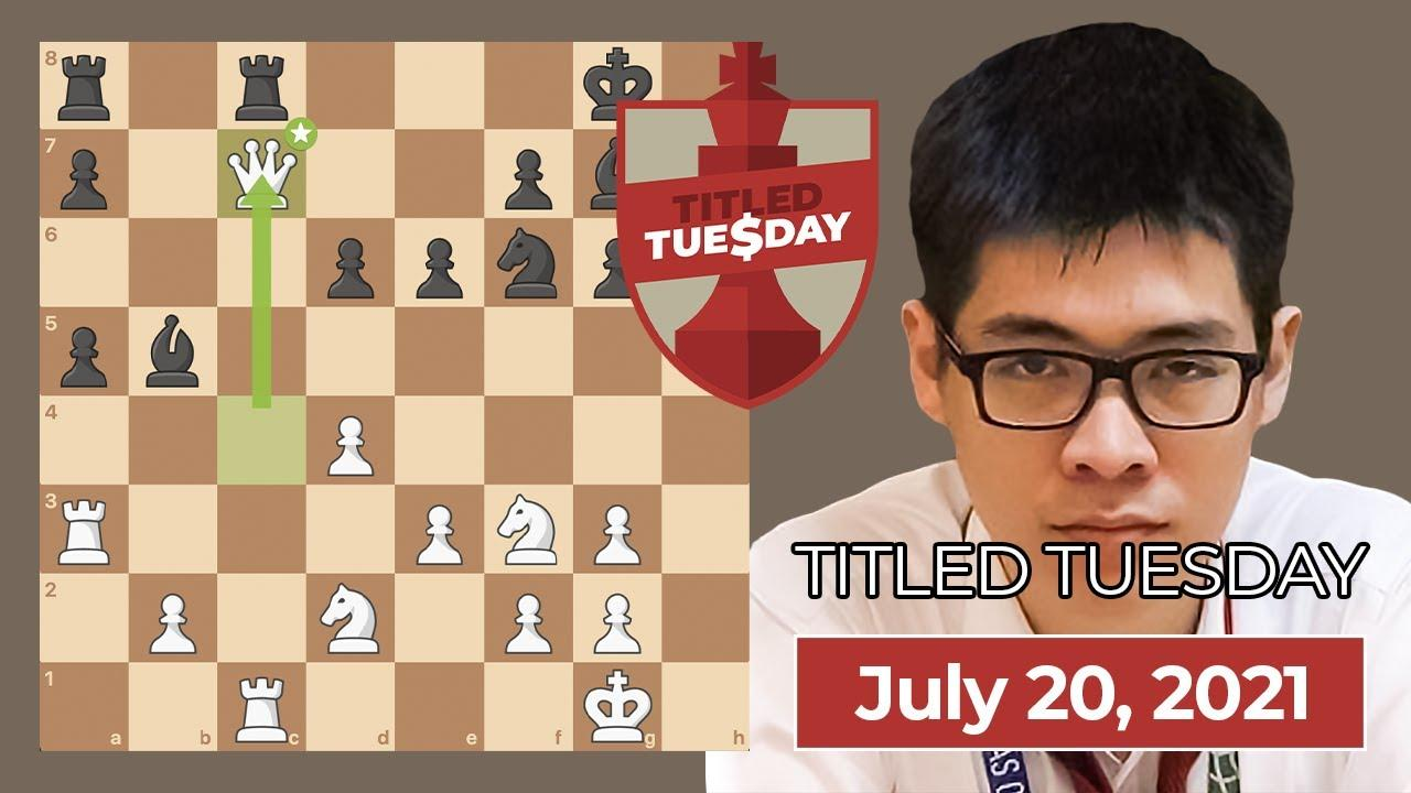 Le Wins July 20 Titled Tuesday