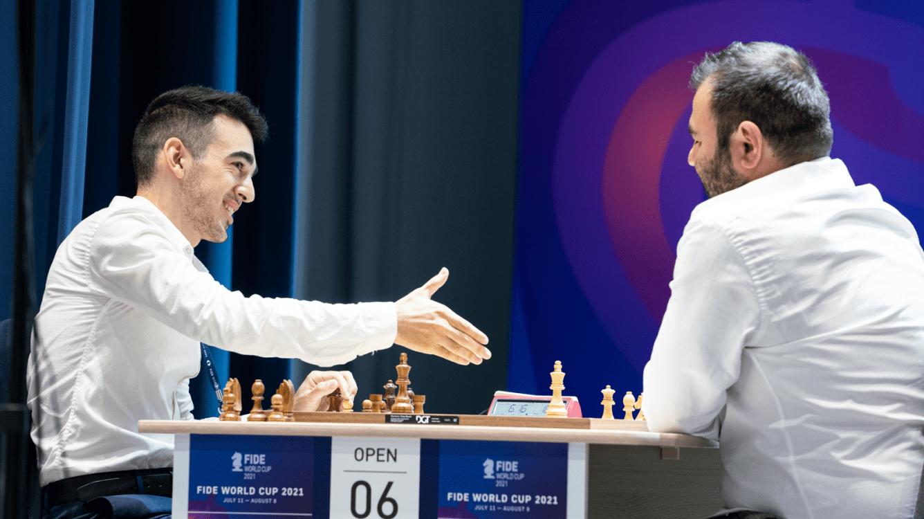 Copa do Mundo da FIDE: Giri e Mamedyarov eliminados; MVL sobrevive ao armagedom