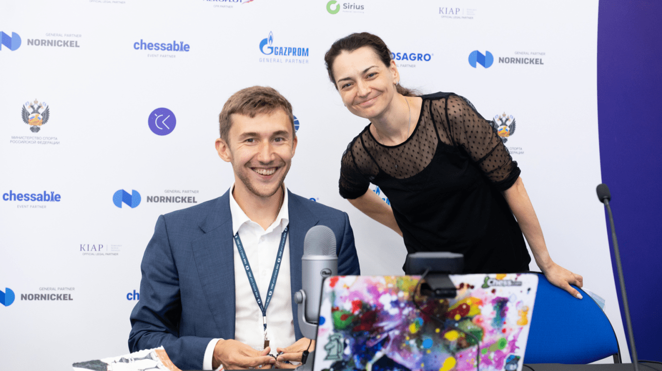 Кубок мира по шахматам: Карякин, Костенюк и Горячкина побеждают
