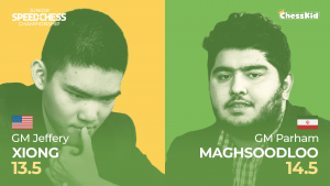 Junior Speed Chess Championship QF: Maghsoodloo Beats Xiong In Bullet
