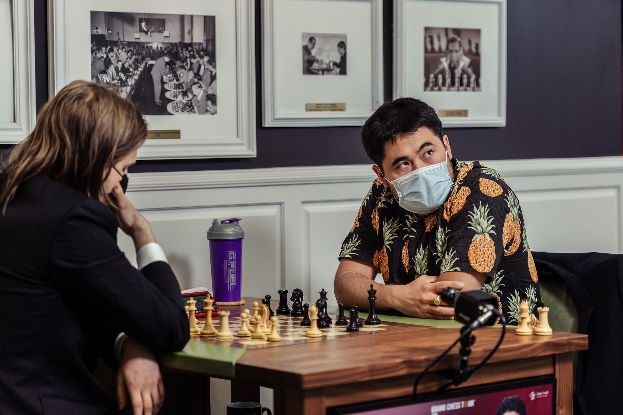 Saint Louis Rapid & Blitz Day 3: Nakamura Moves Into First, Rapport Rises