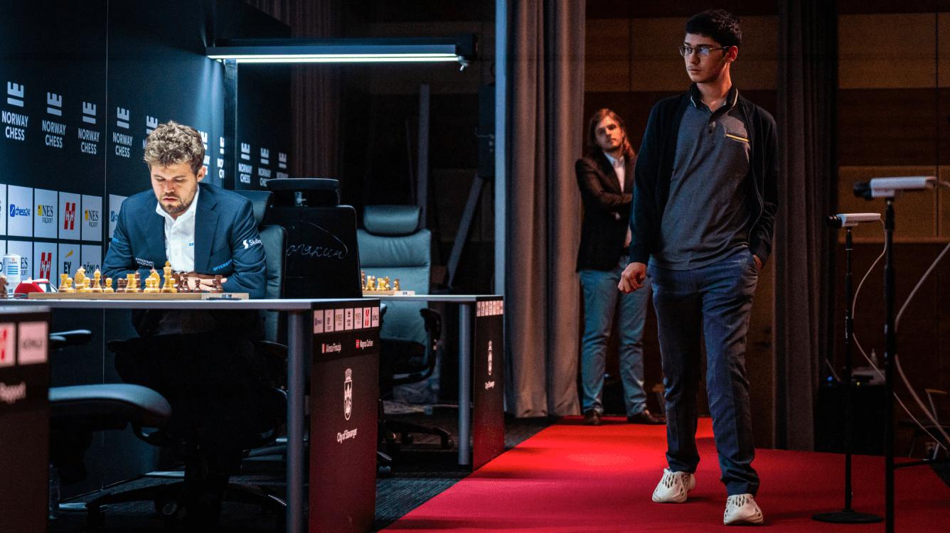 Xadrez da Noruega R1: Rapport Early Leader enquanto Firouzja-Carlsen vai para o Armagedom