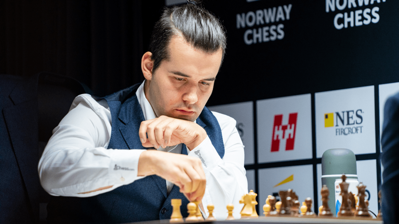 Norway Chess R2: Nepomniachtchi Wins With The King's Gambit