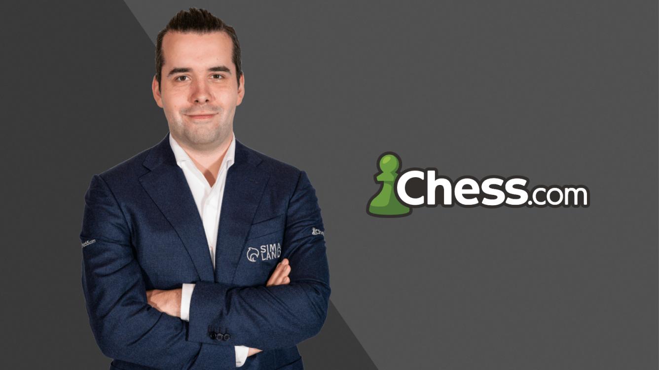 Ян Непомнящий заключает соглашение с Chess.com