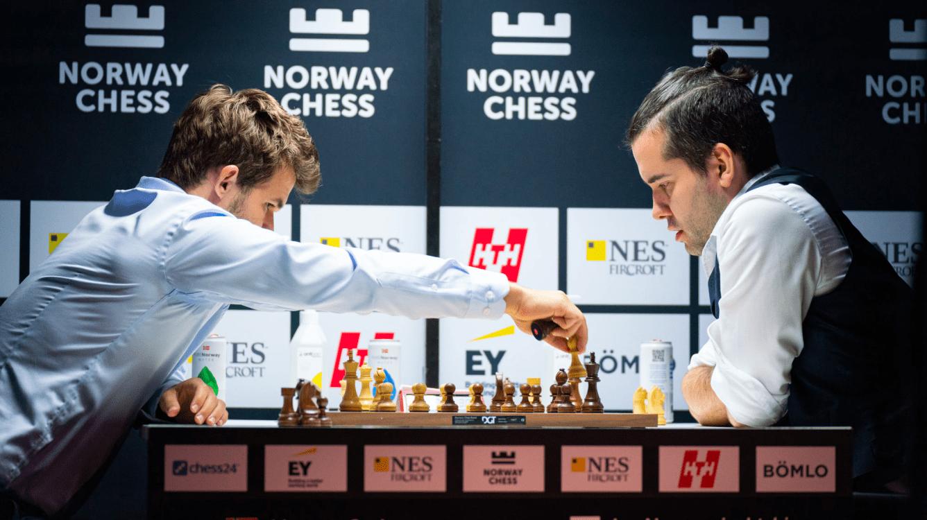"Xadrez da Noruega R4: Rapport Aumenta Chumbo, Carlsen ""Tortura"" Nepomniachtchi"