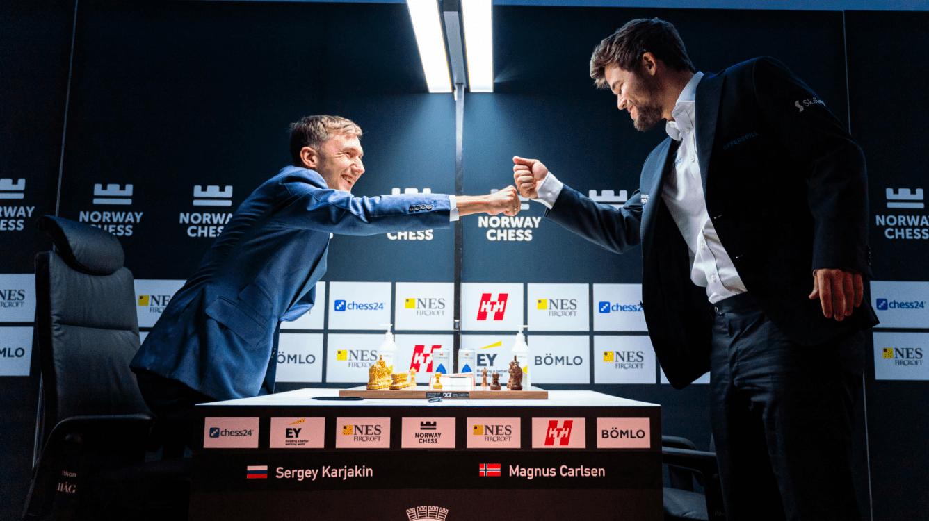 Ставангер: Карякин побеждает Карлсена впервые за пять лет