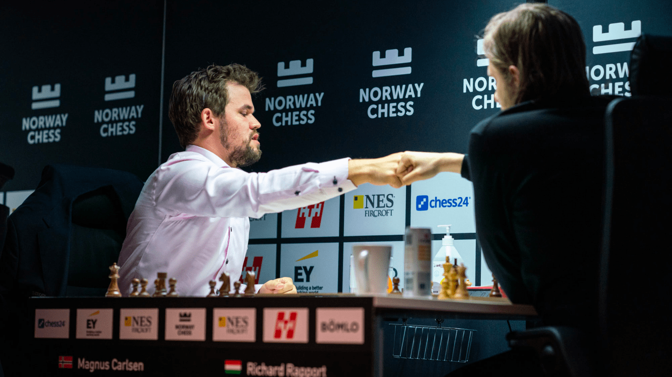 Norway Chess R8: Carlsen Beats Rapport In Top Clash