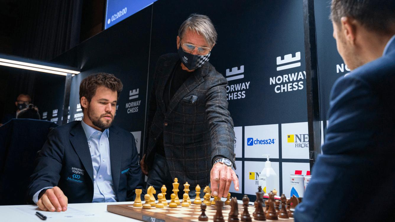 Xadrez da Noruega R9: Carlsen lidera após a 4ª vitória consecutiva; Firouzja entra no Top 10 do mundo