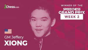 Speed Chess Grand Prix 2: Xiong Wins In Dramatic Knockout