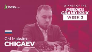 Speed Chess Grand Prix 3: Xiong wins Grand Prix, Chigaev wins Knockout