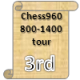 "Congratulations! You have won 3rd place in the <a href=""https://www.chess.com/tournament/chess960-800-1400-tour"">Chess960 800-1400 tour</a> tournament with an overall record of 11-11-0."