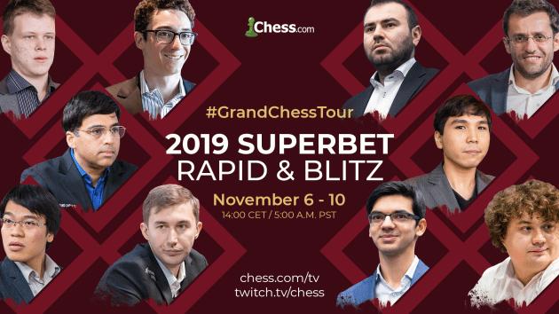 Grand Chess Tour - Superbet Rapid and Blitz