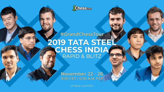 Grand Chess Tour - Tata Steel Rapid and Blitz